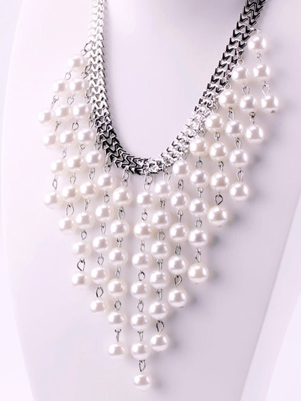 Luxurious Pearl Hot Sale Necklaces For Ladies
